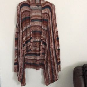 American Eagle High Low Open Cardigan Size Small